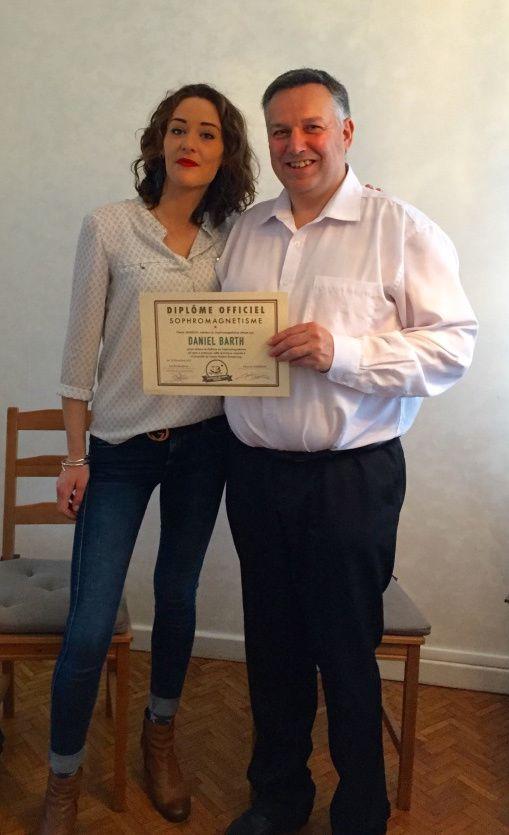 Sophie HASSINE et Daniel BARTH - Février 2016