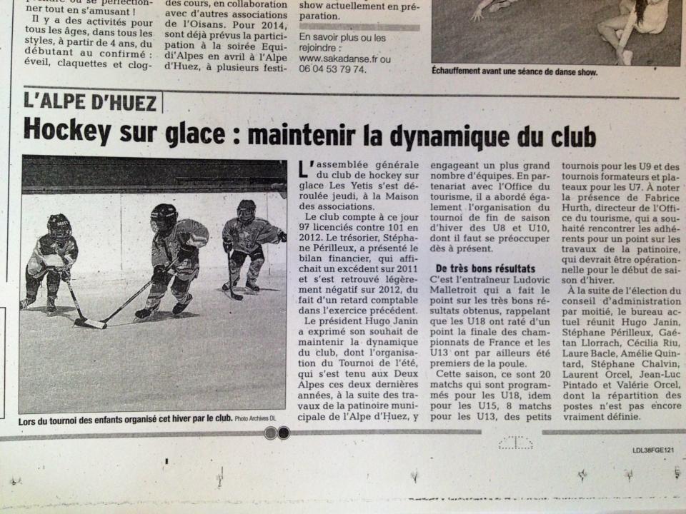 Hockey club de l'alpe dhuez