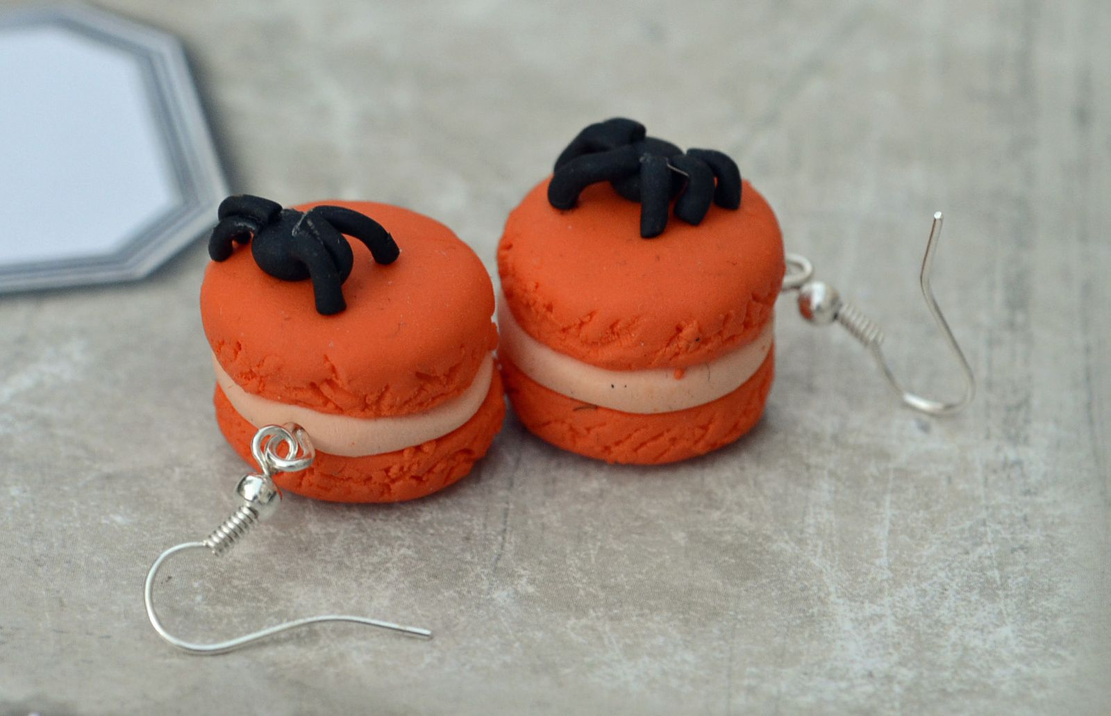 Bijoux en p te fimo pour halloween creation de rosalila - Idee creation pate fimo ...
