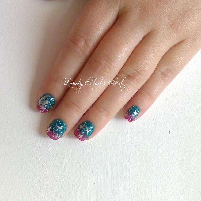 Nail art stamping *féerique*