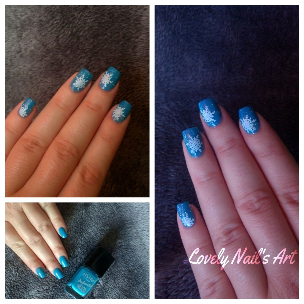 Nail art stamping *winter*