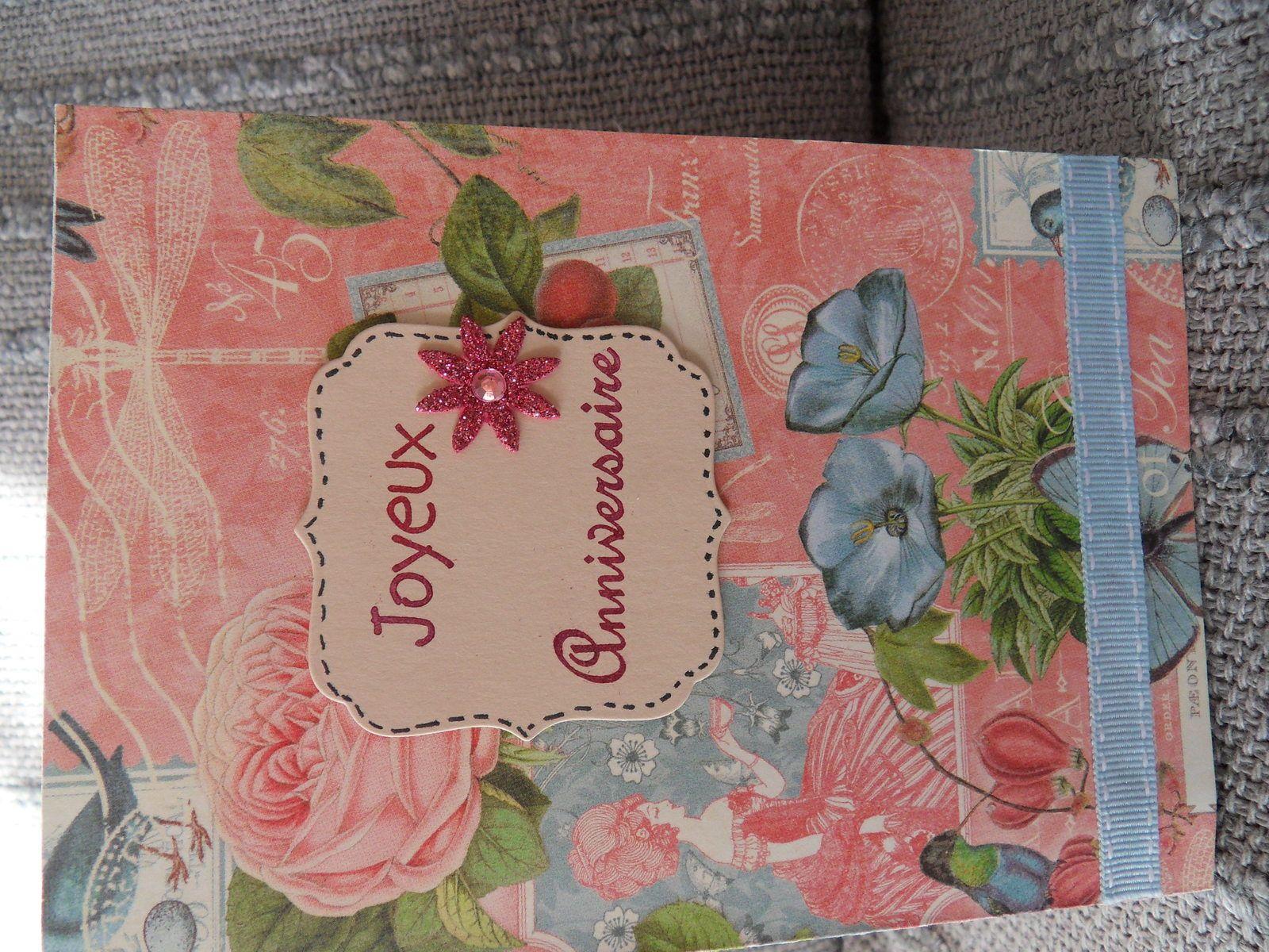 Carte Anniversaire Femme Original