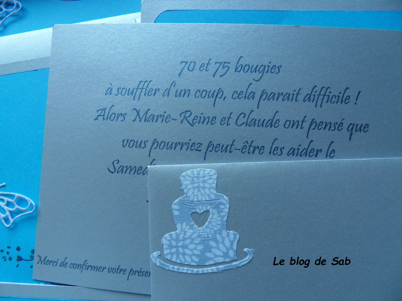 Cartes d'invitations