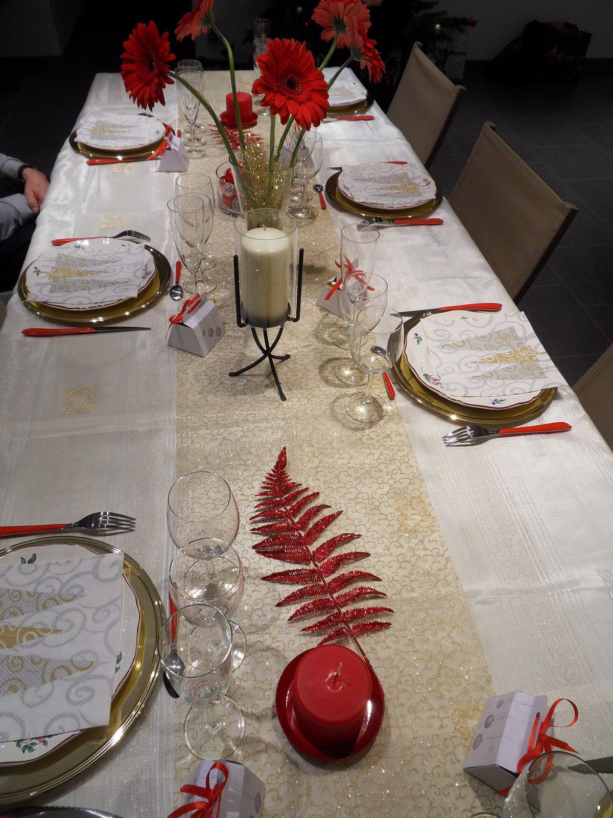 Table de Noël /Décoration