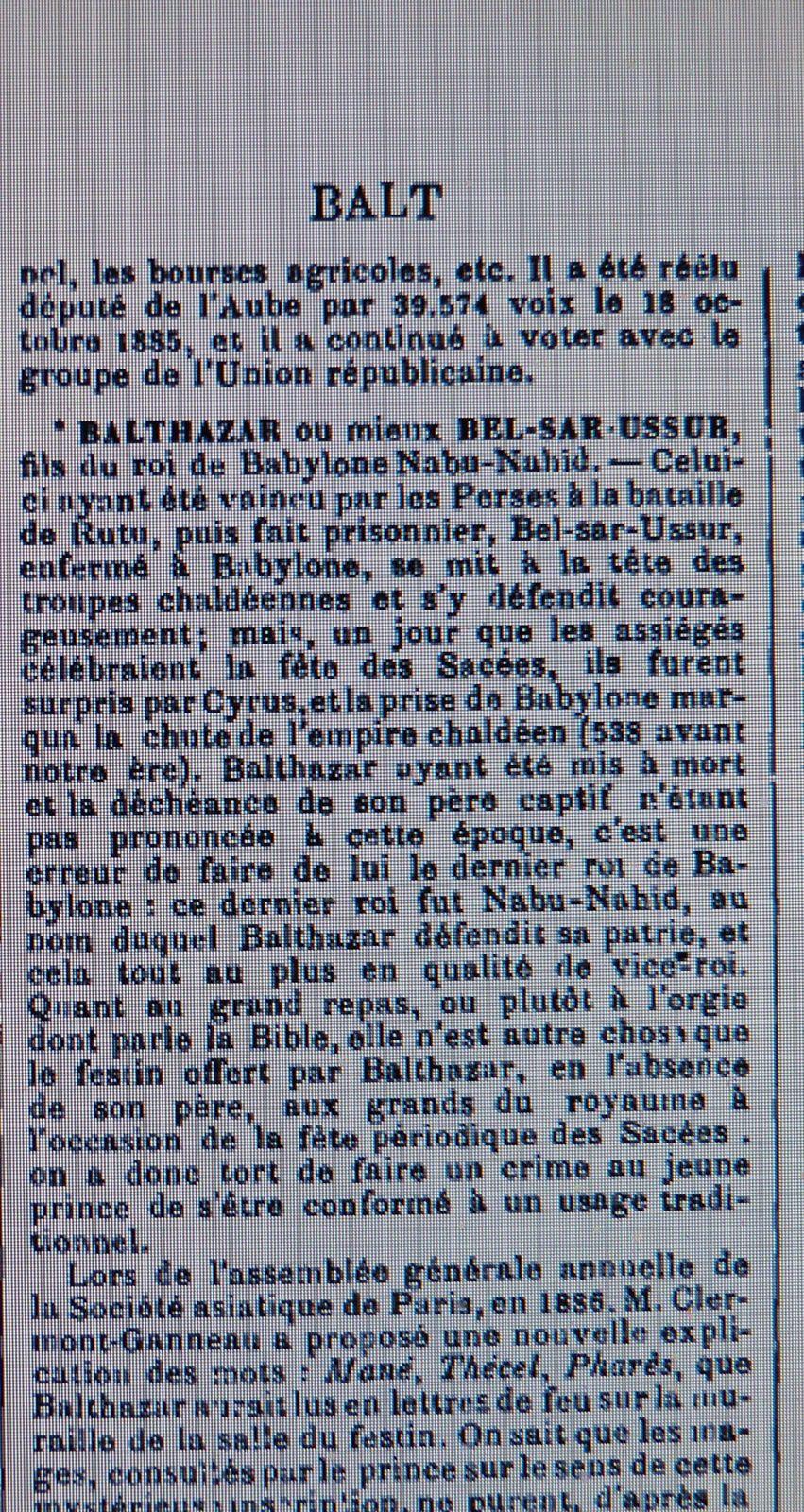 Stanislas BALTET, biographie par Pierre Larousse