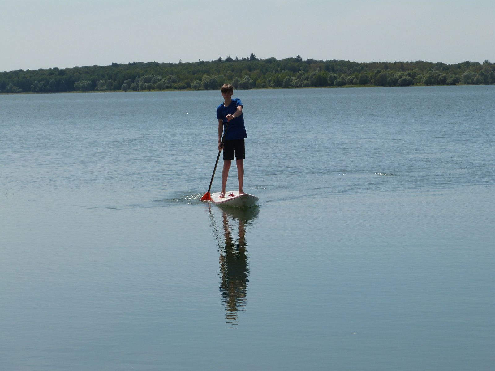 Stand up paddle sur le lac du Temple (10)