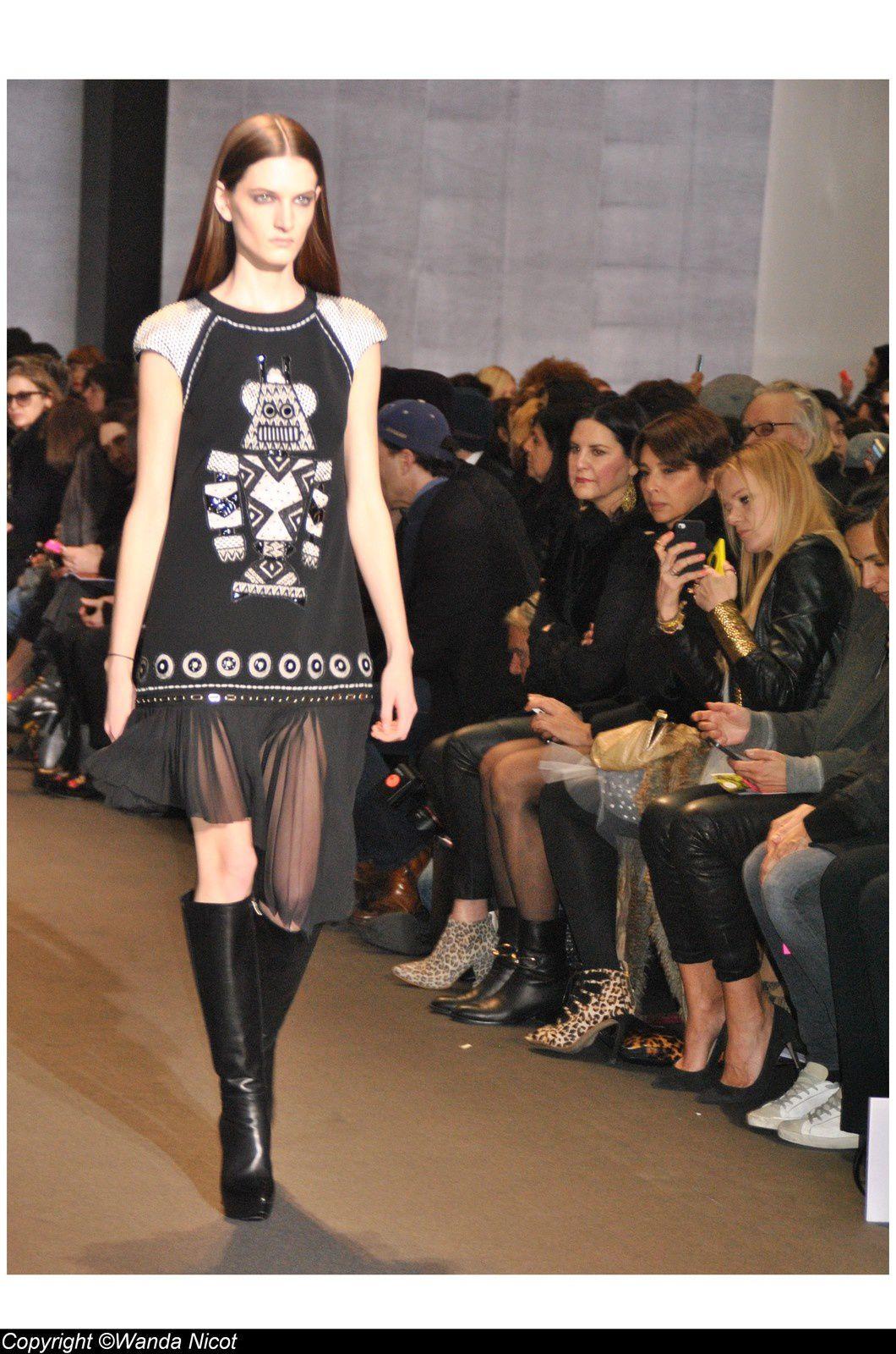 La fashion Week Automne -Hiver 2014-2015 à l'Institut des Beaux -Arts