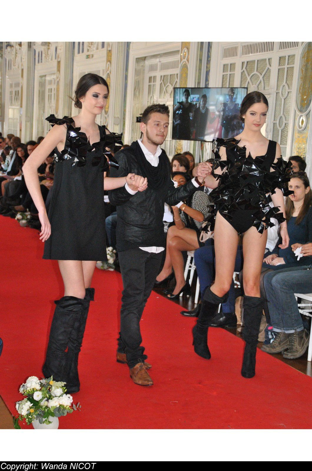 N°3 DEFILE DE LA FASHION NIGHT COUTURE A PARIS