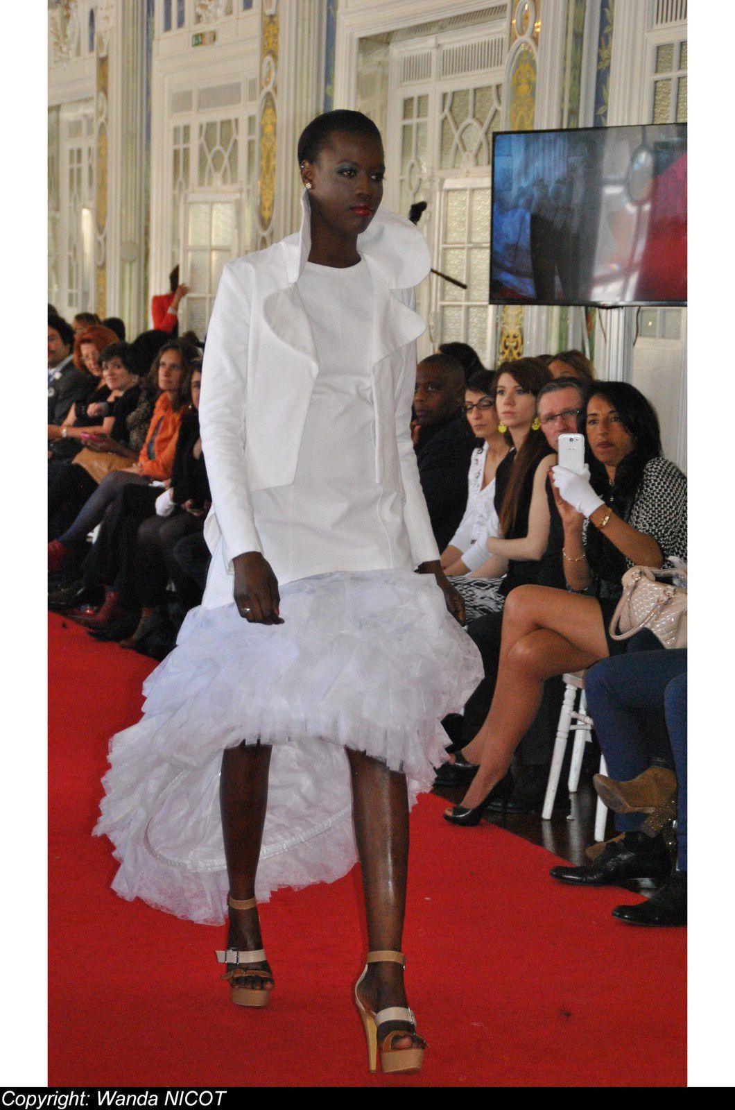 N°4 DEFILE  DE LA FASHION NIGHT COUTURE  A PARIS