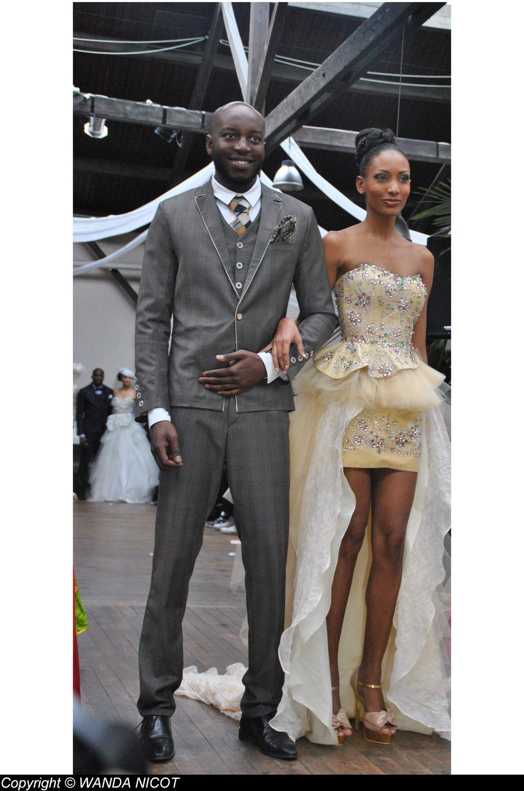 REPORTAGE PHOTO 1eEDITION SALON DU MARIAGE AFRO-ANTILLAIS