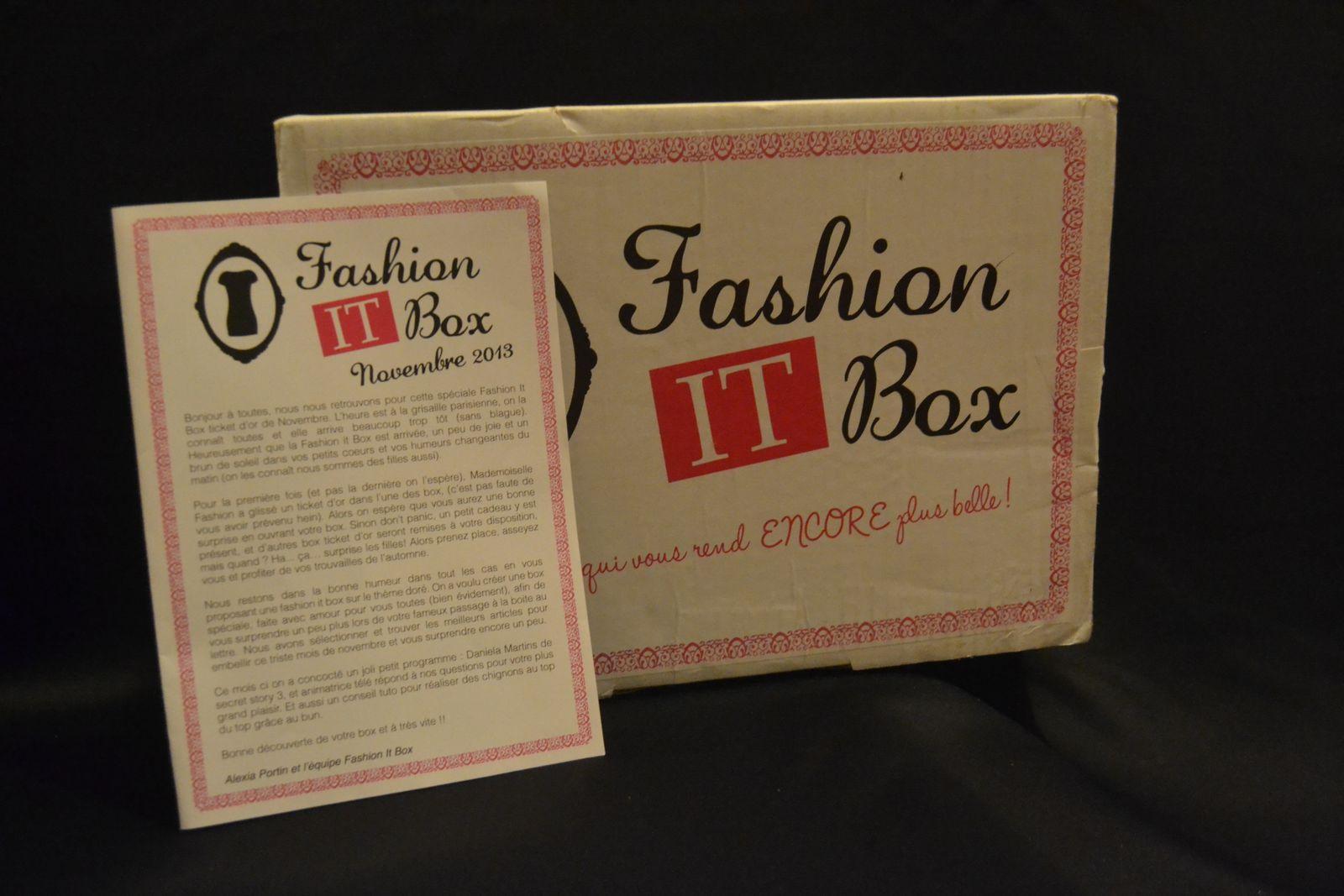 BOx: La fashion it