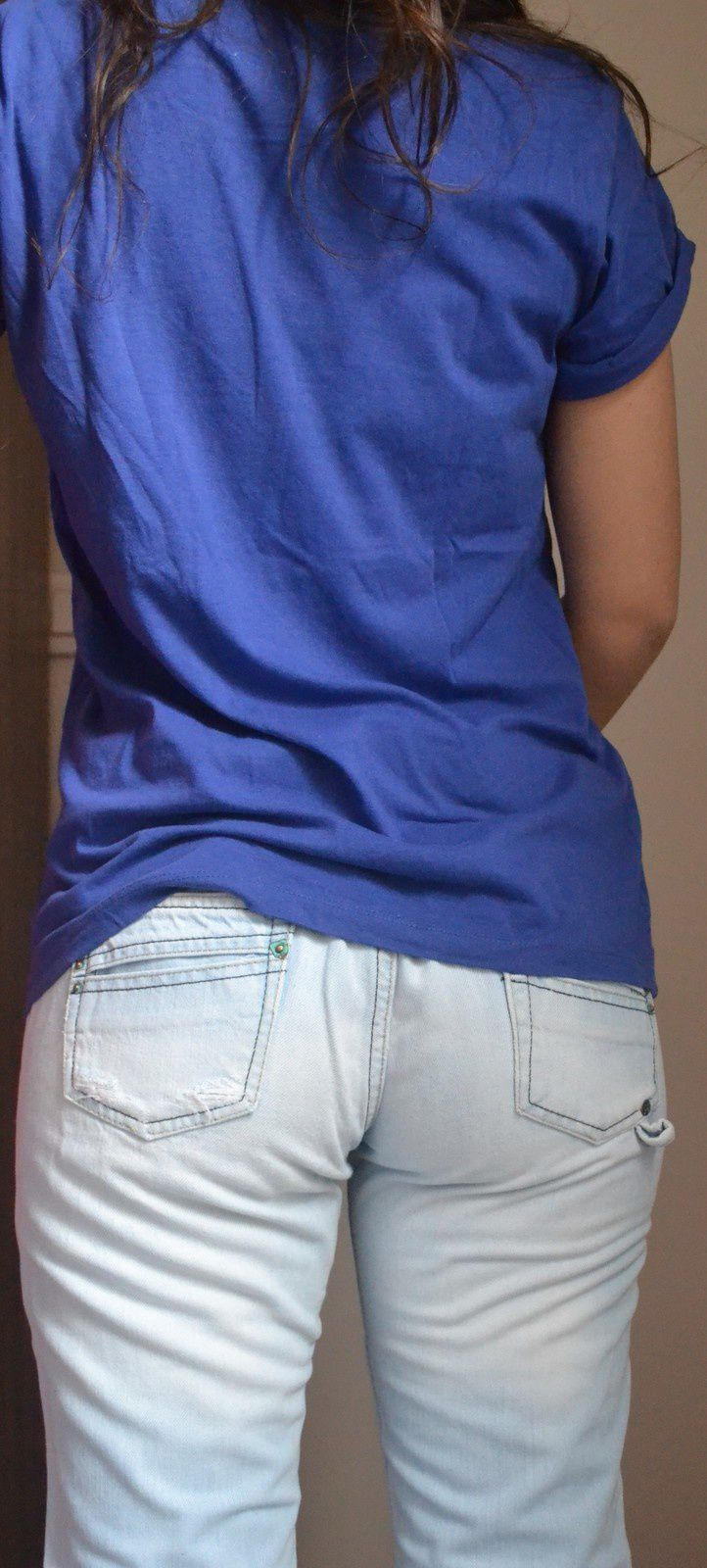 Jeans Pimkie taill 38: 10€      T-shirt bershka taille M : 7€