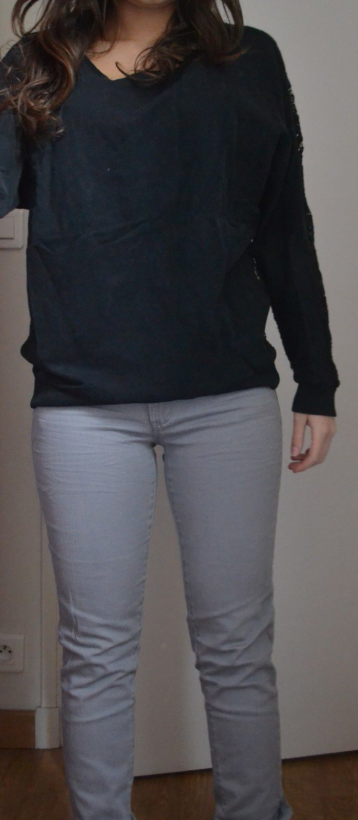 Jeans taille 36 Pimkie 8€   Pull dentelle Pimkie taille M: 15€