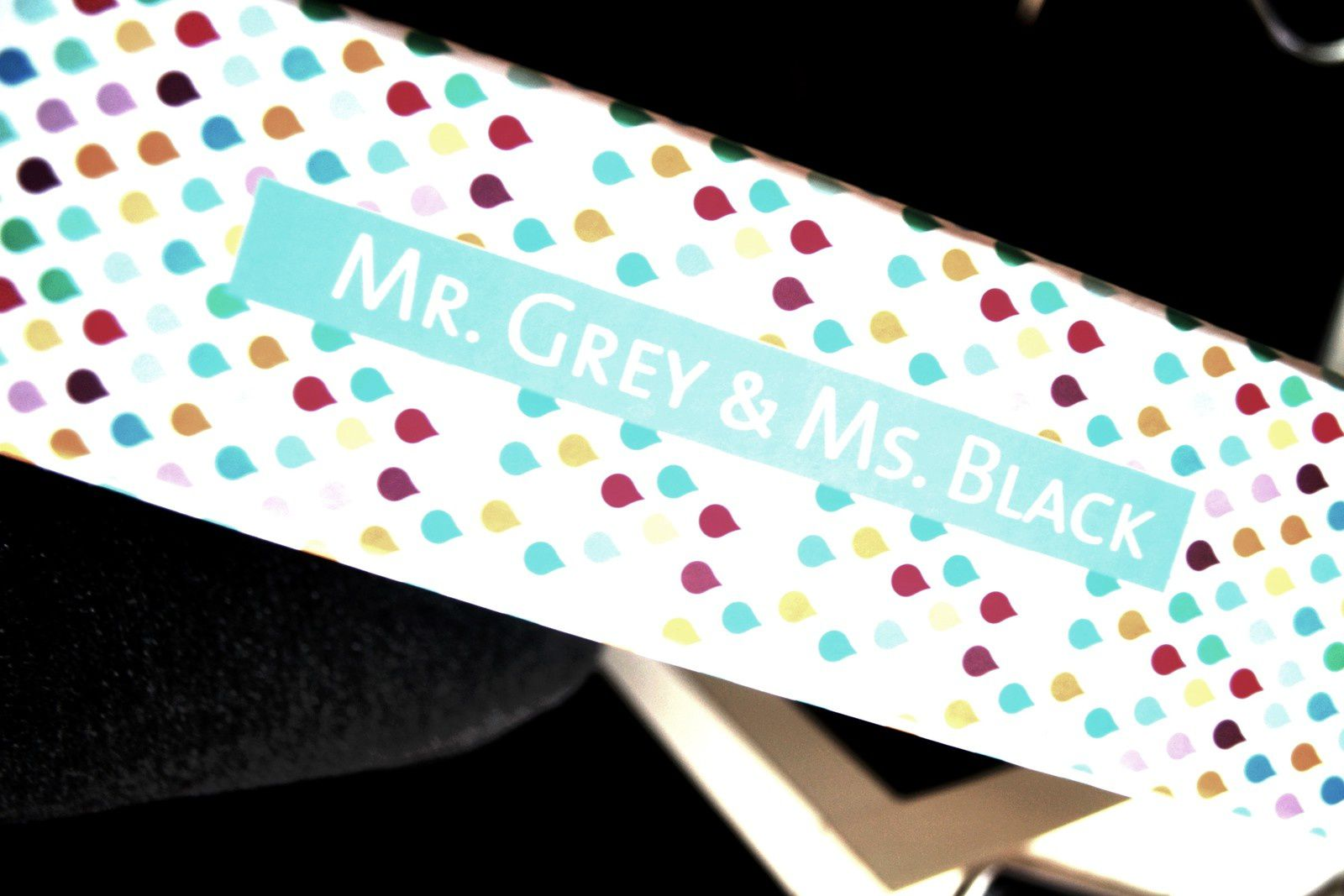 Mr. Grey &amp&#x3B; Ms. Black !