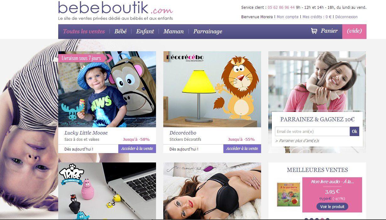 Bébé Boutik et Couffin Privé
