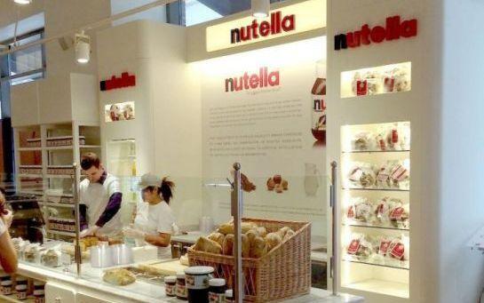 Un bar à Nutella