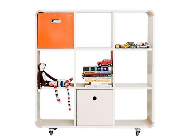 Rangements pour chambres d 39 enfants france 39 in d co - Fabriquer bibliotheque enfant ...