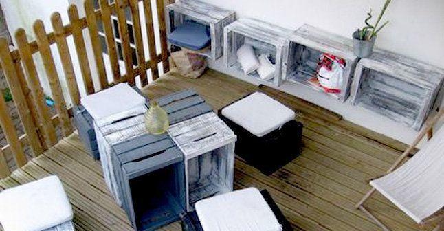des id es d co pour tout recycler france 39 in d co. Black Bedroom Furniture Sets. Home Design Ideas