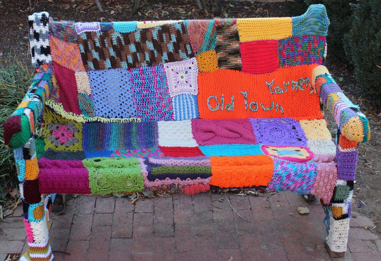 Yarn Bombing, quand le tricot envahit la rue !