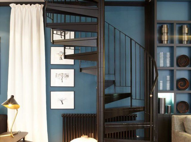 oser ou pas la couleur sur les murs france 39 in d co. Black Bedroom Furniture Sets. Home Design Ideas