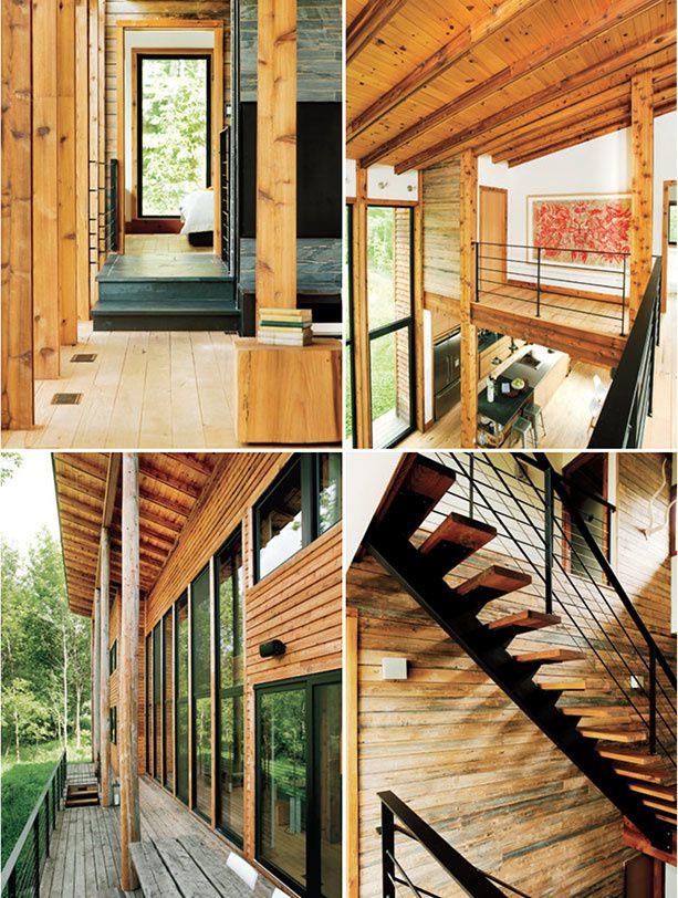 Une maison écologique au Québec