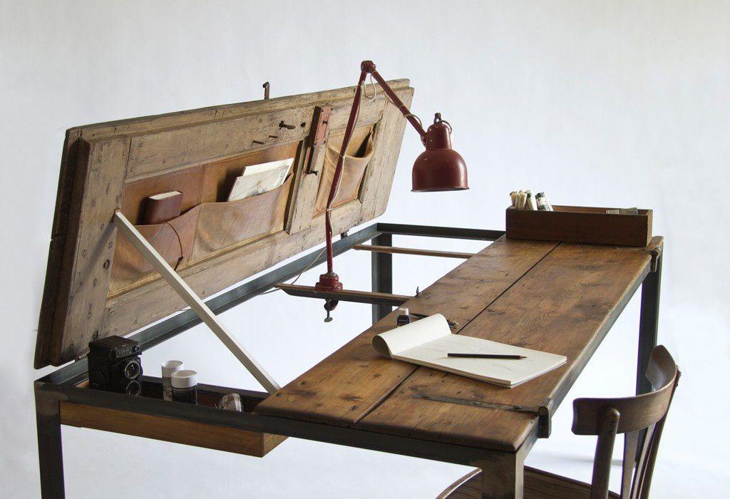 Mobilier double jeu france 39 in d co for Table de bureau en bois