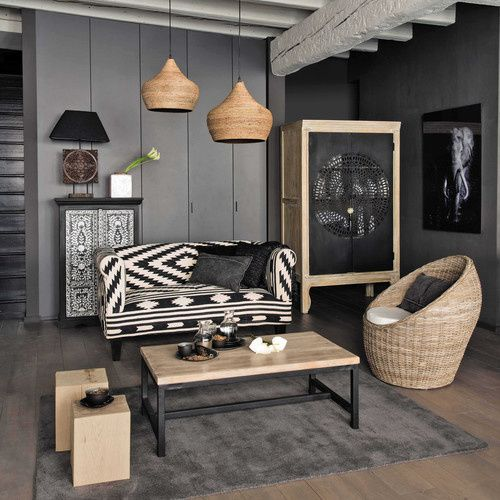 le come back du rotin france 39 in d co. Black Bedroom Furniture Sets. Home Design Ideas