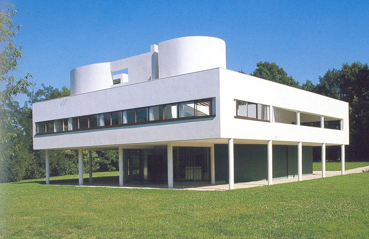 Le corbusier p re de l 39 architecture moderne france 39 in d co for Architecture des villas modernes