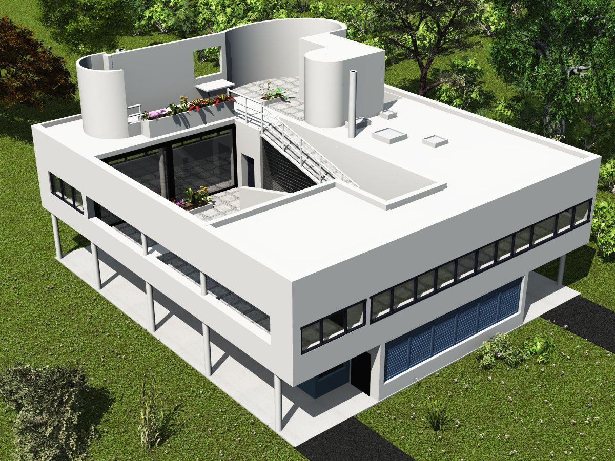 Le corbusier p re de l 39 architecture moderne france 39 in d co for Villa concept construction vedene