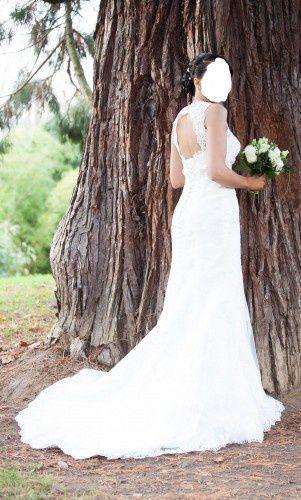 robe de mariée de la marque « NOVIAS RADIANTES » sur annonce dentelle 450€