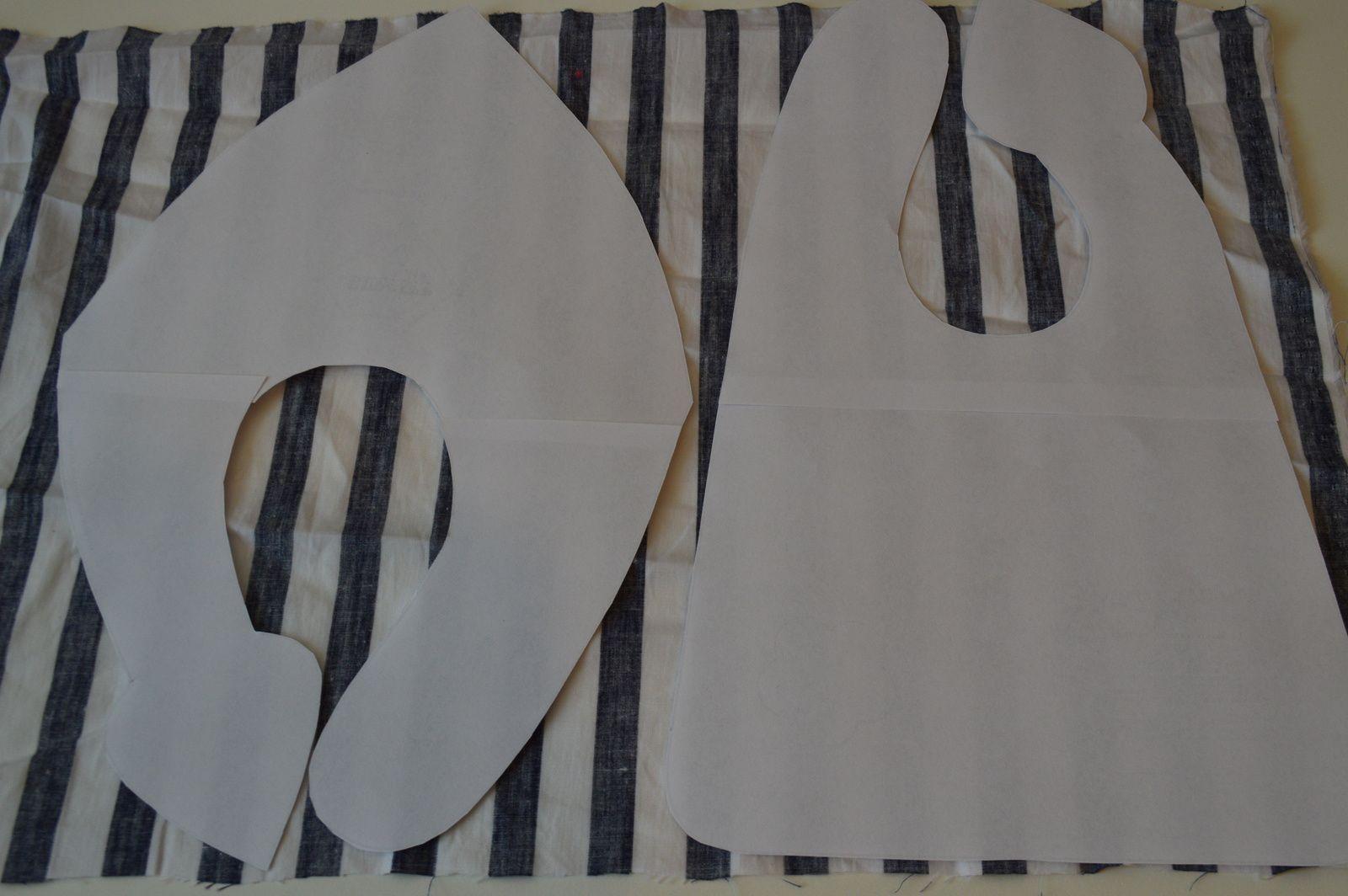 patron couture bavoir bandana. Black Bedroom Furniture Sets. Home Design Ideas