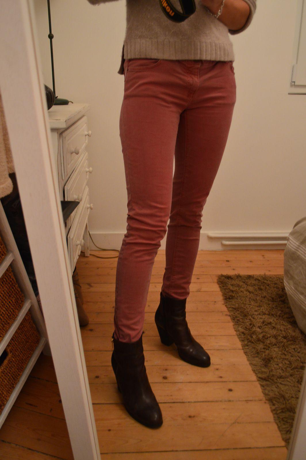 étape n°6 pantalon terminé