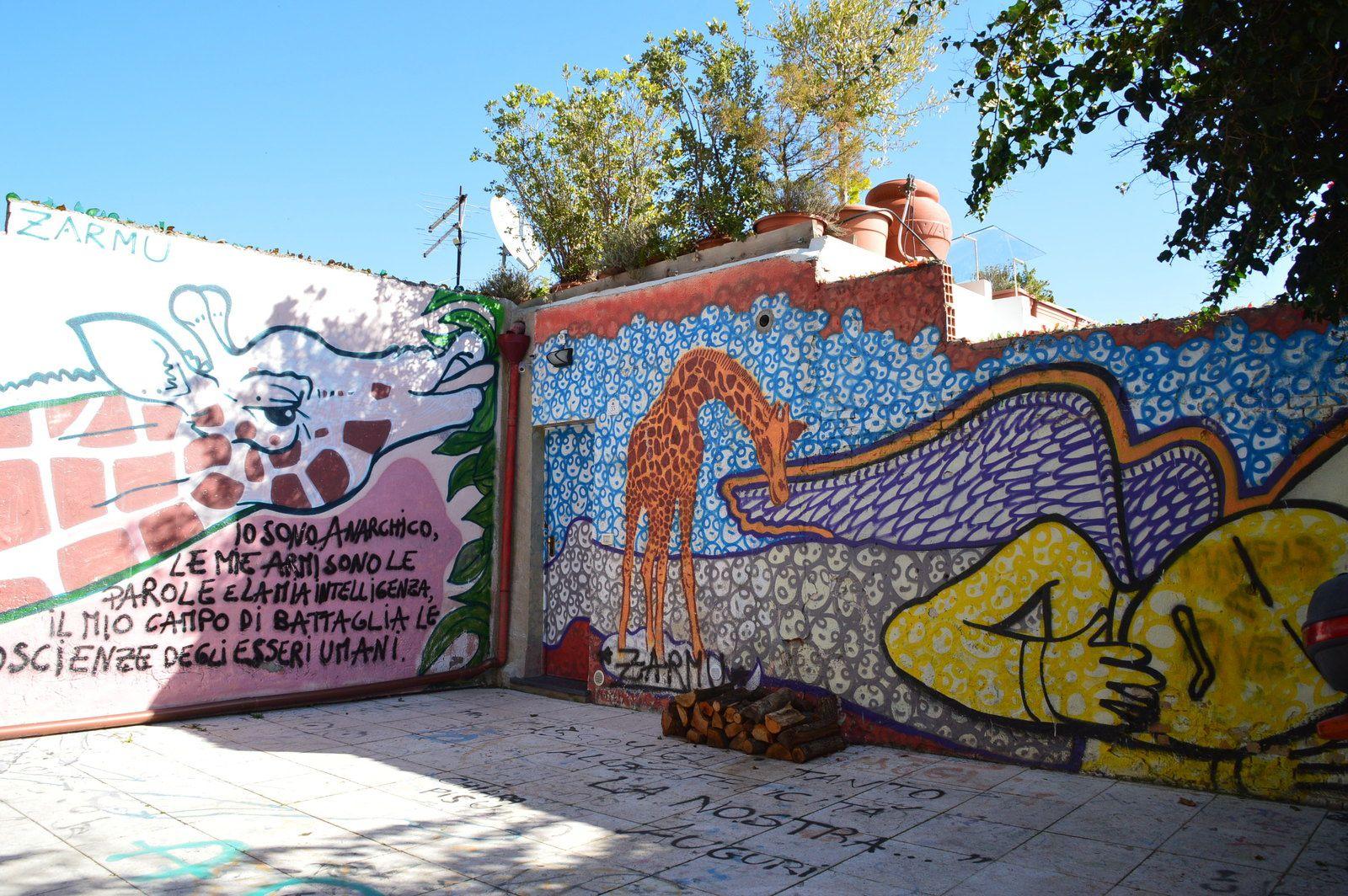 via san saturnino, cagliari (street art)