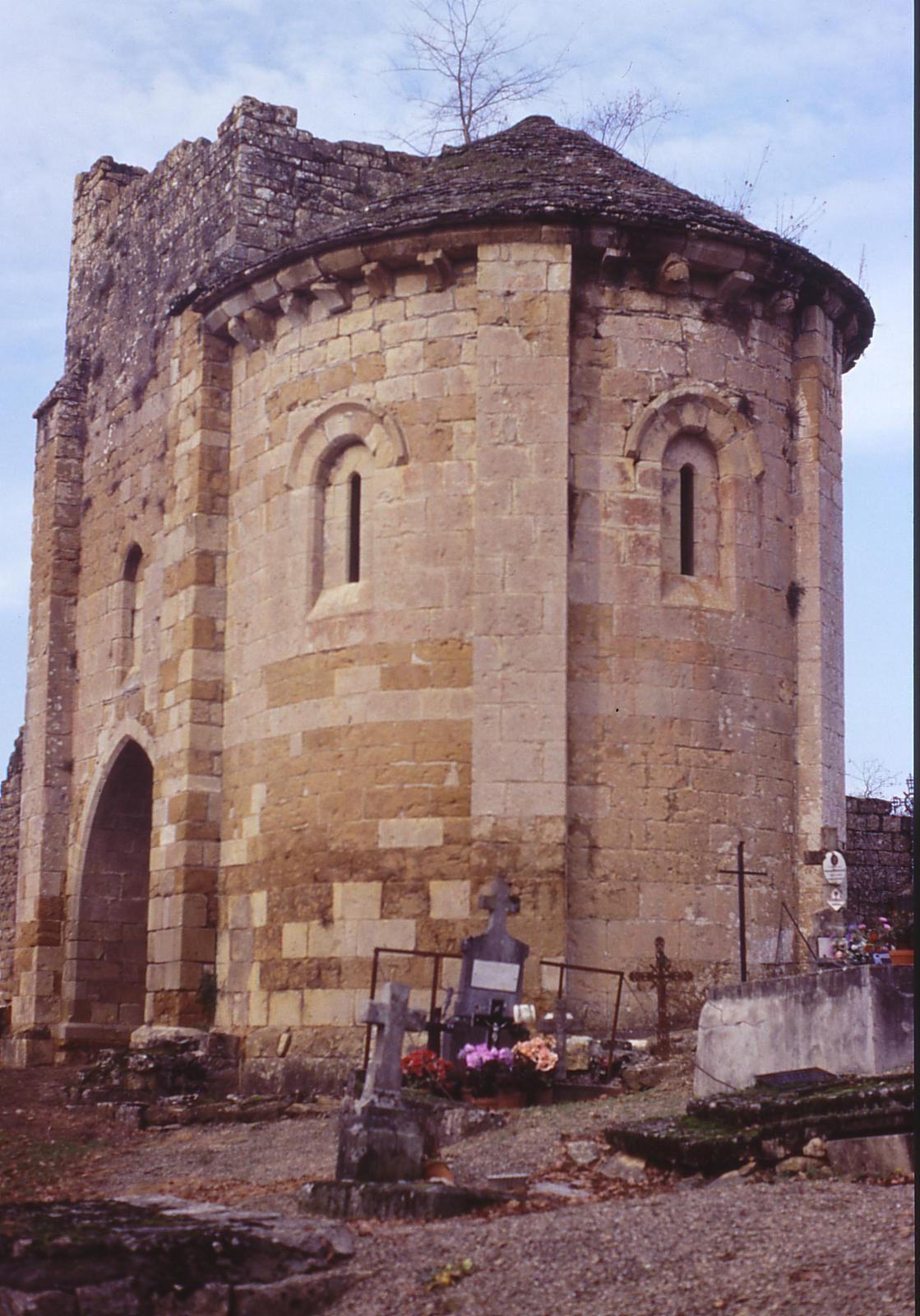 Ruine de l'église St Martin