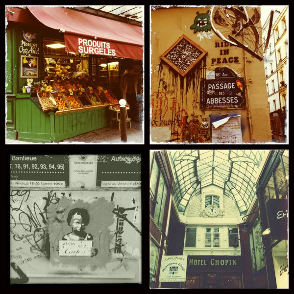 Week-end parisien en Hipstamatic