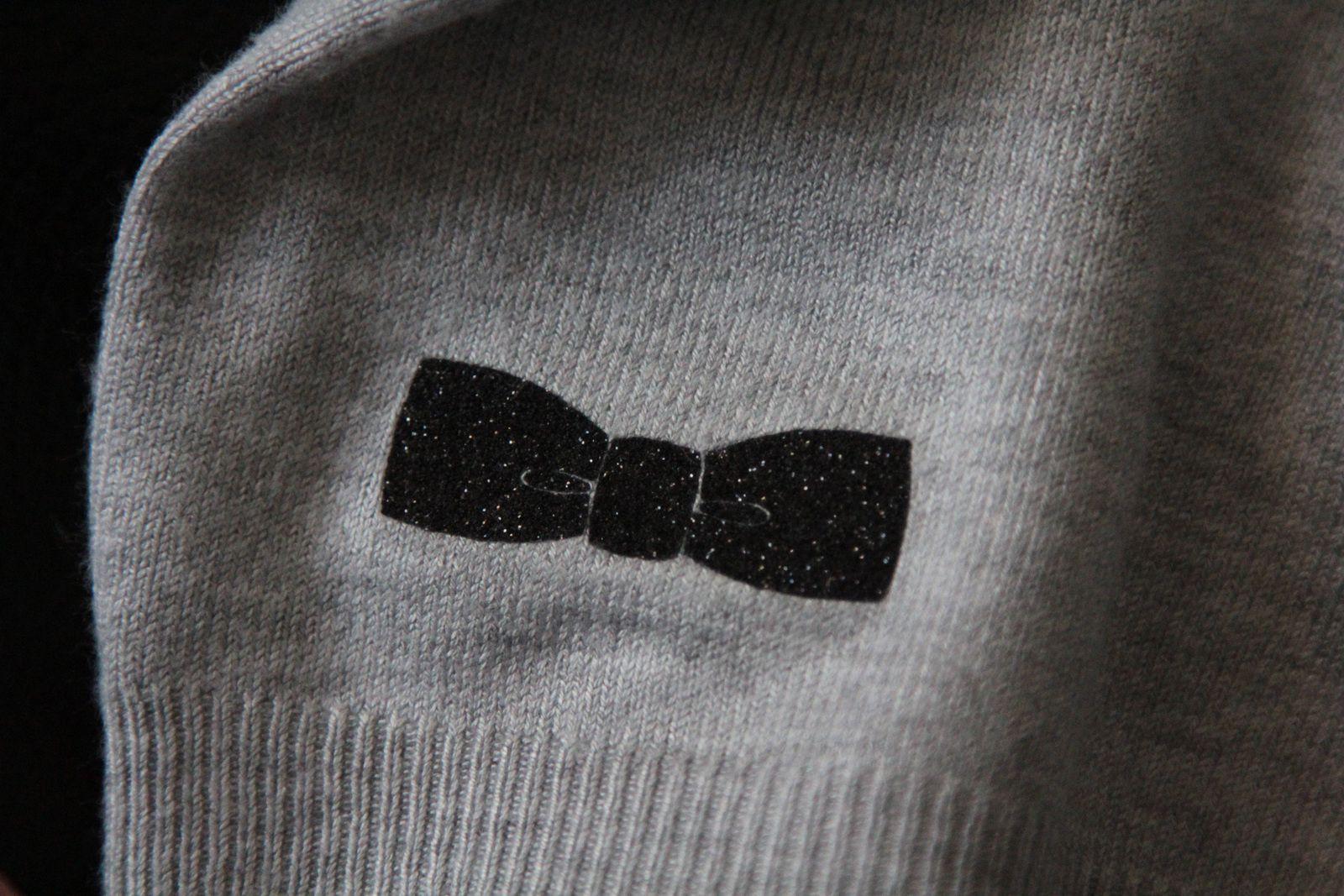 Flex textile paillettes noir Alyance