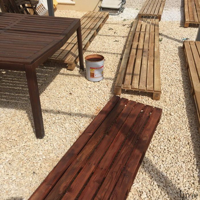 Faire un salon de jardin - Comment faire un salon de jardin en palette ...