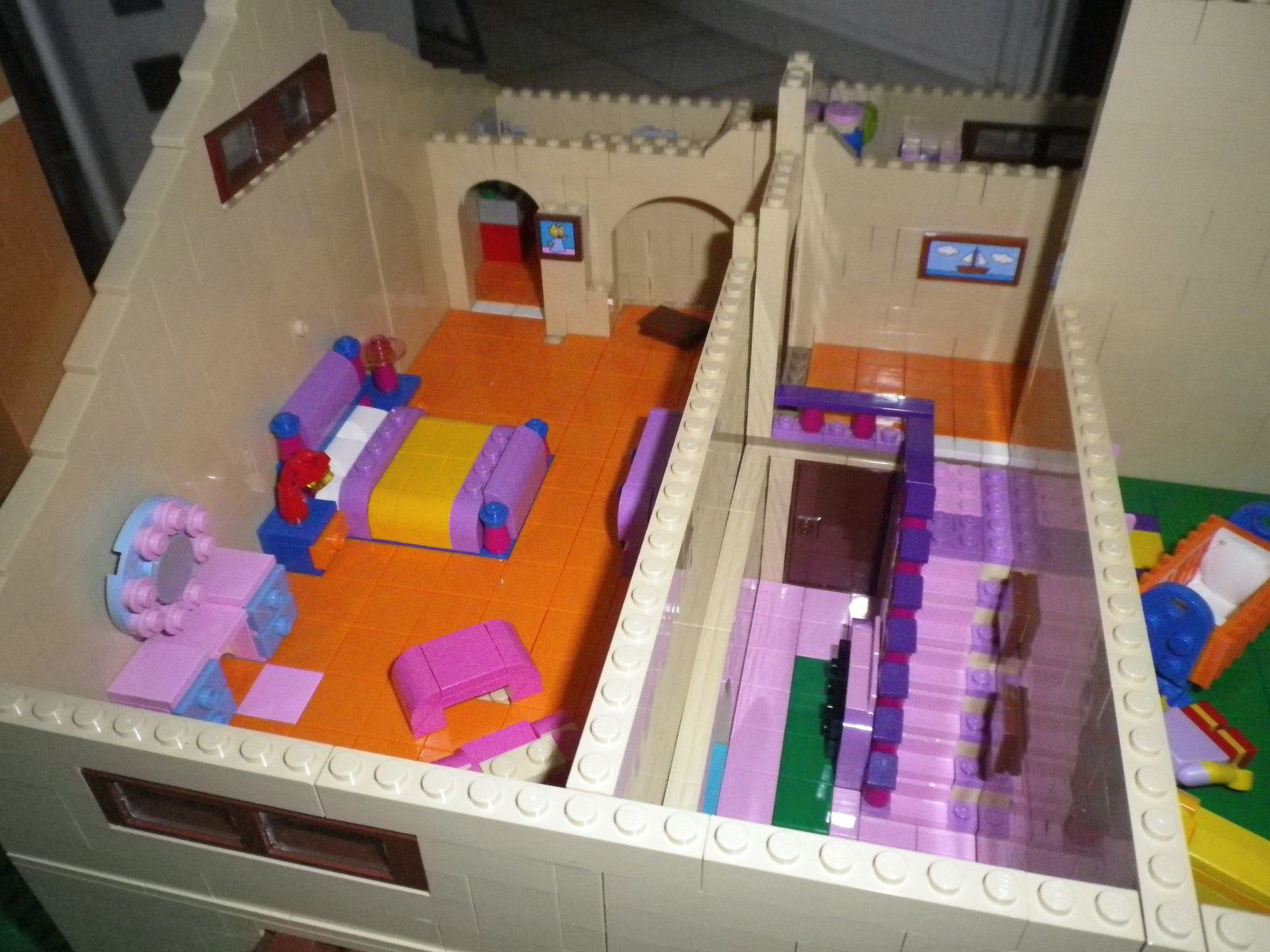 Big Lego Simpsons House