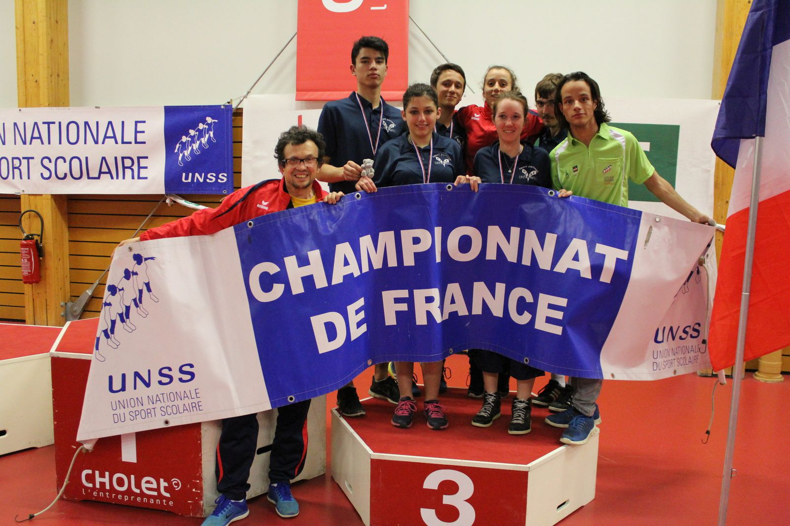 france ping cholet