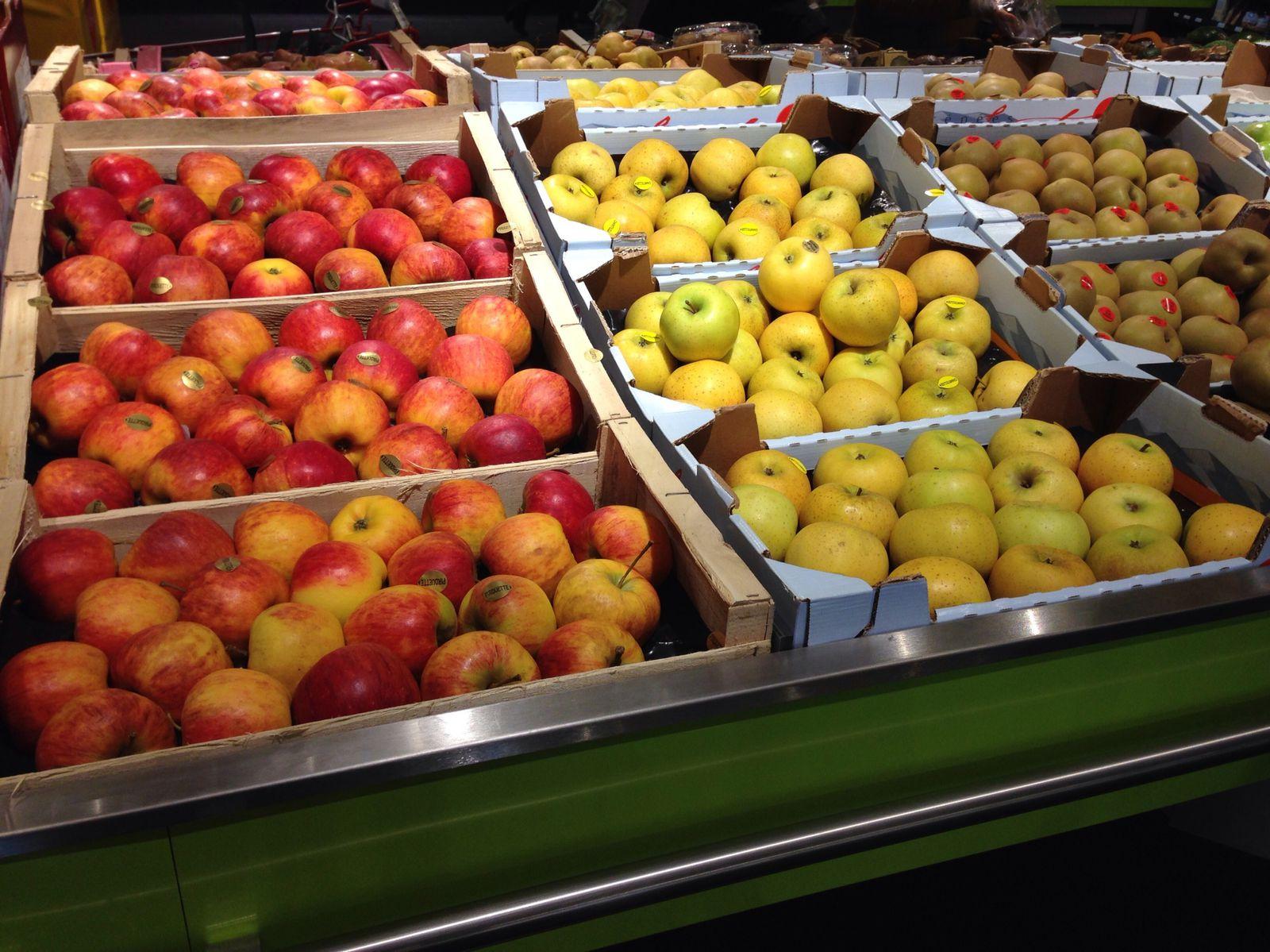 A la découverte des fruits et légumes!