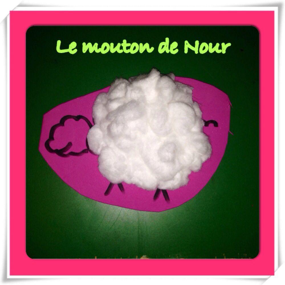 Comme vous pouvez le constater, nour a très bien lainé son mouton. Adam lui a préféré le couvrir de la tête à la queue, mskin pauvre petit mouton on ne le distingue même plus