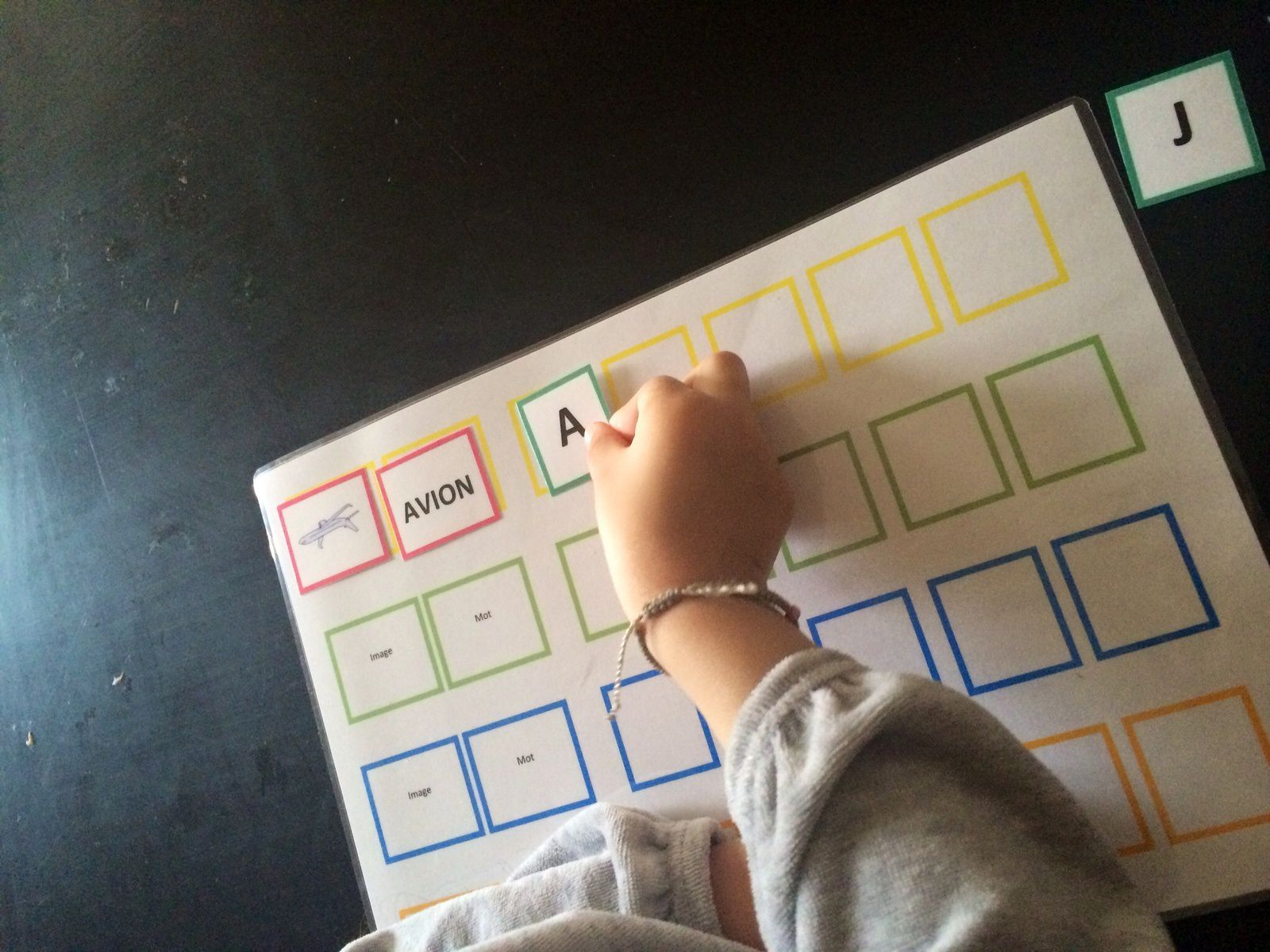 Apprendre l'alphabet, lire et écrire