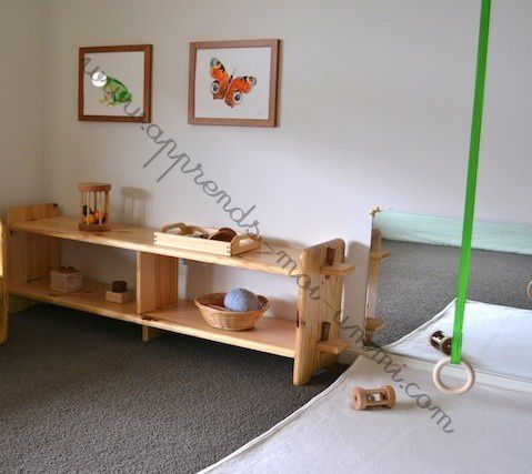 Montessori : programme et matériel du Nido