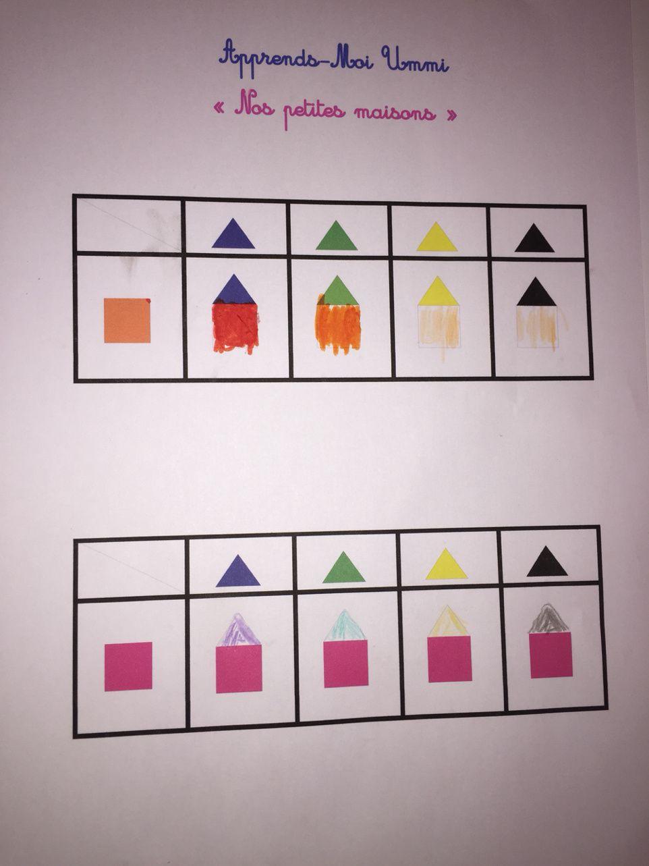 Nos petites maisons : couleurs, graphisme