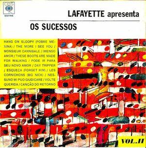 Apresenta os sucessos vol. 2 (1966) - Lafayette