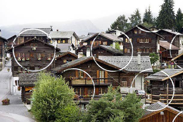 Anamorphose architecturale...