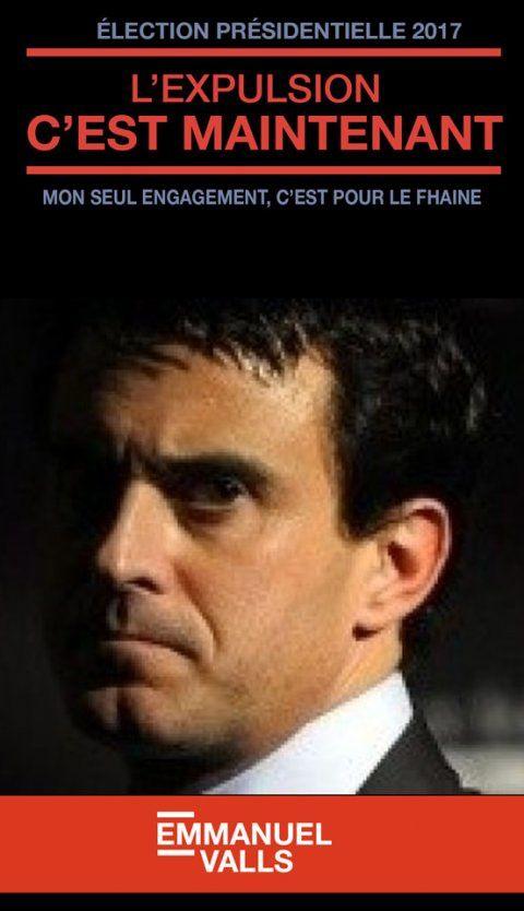 Valls démission !