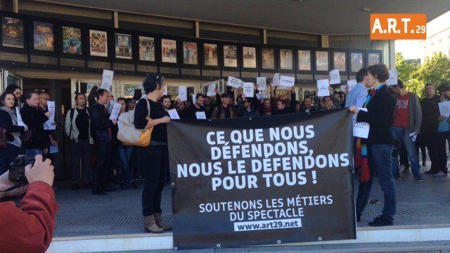 Morlaix : Arts en résitance dans les territoires  - Section Finistère