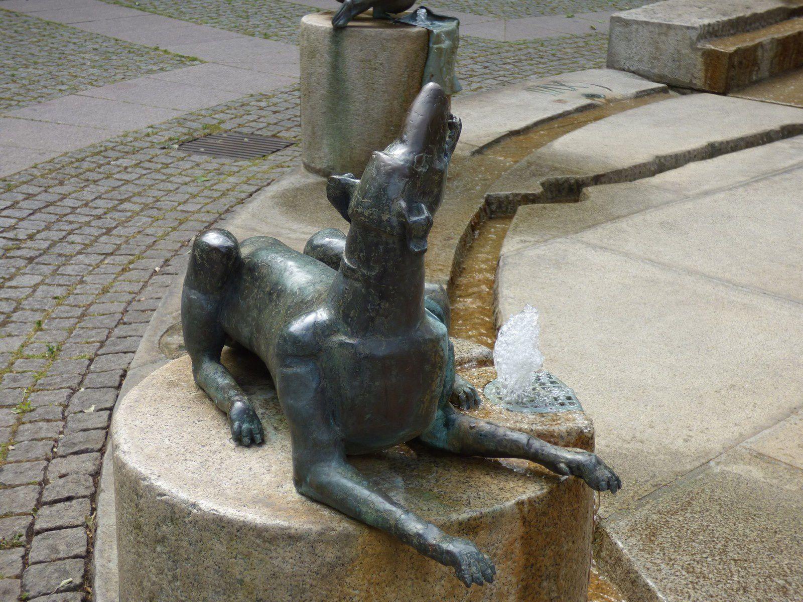A la belle fontaine...