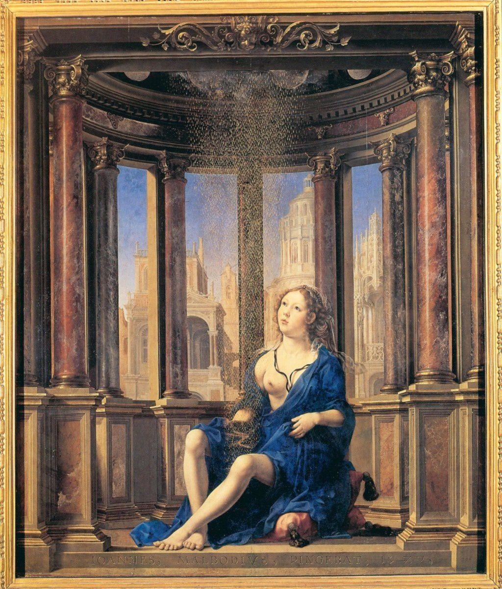 Danaé, 1527, Jan Gossaert, (Munich, Alte Pinakothek)